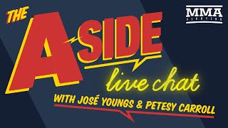 The A-Side Live Chat with WWE superstar Gentleman Jack Gallagher | April 7, 2020 | MMA Fighting by MMA Fighting