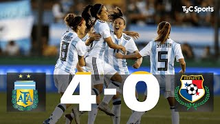 Video Argentina 4-0 Panamá: Repechaje Ida Mundial Femenino Francia 2019 MP3, 3GP, MP4, WEBM, AVI, FLV Maret 2019