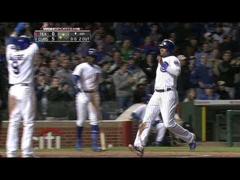 Video: TEX@CHC: Cubs extend lead on Rizzo's two-run single
