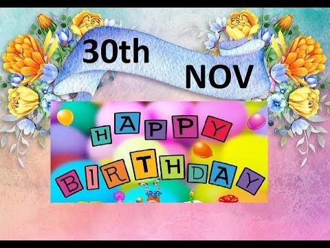 Funny birthday wishes - HAPPY BIRTHDAY WHATSAPP STATUS 30TH NOV 2018 HAPPY BIRTHDAY WISHES  30/11/2018