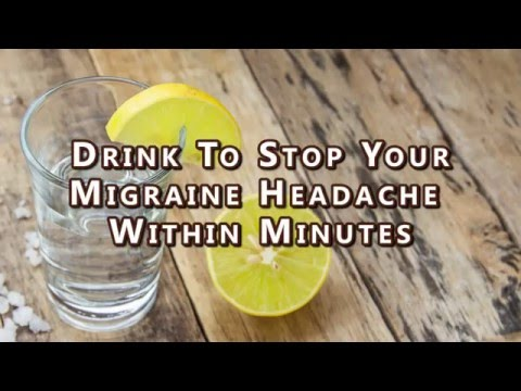 Drink To Stop Your Migraine Headache Within Minutes