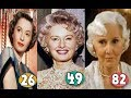 Barbara Stanwyck ♕ Transformation From 15 To 82 Years OLD