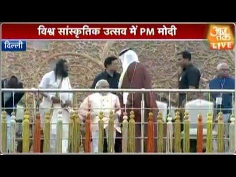 PM-Narendra-Modi-Reaches-Sri-Sris-Event-12-03-2016