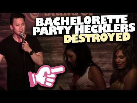 Comedian Destroys Heckling Bachelorette Party