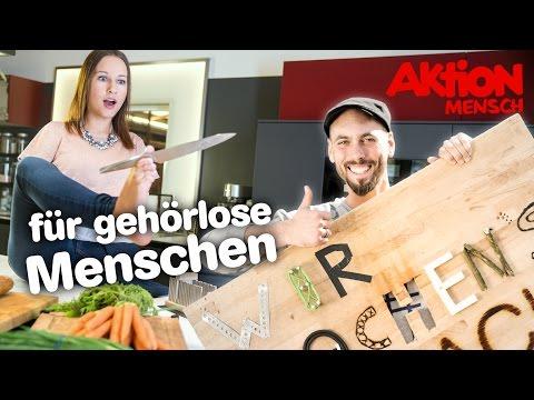 Wir machen's einfach – Der Kann-Alles-Küchenstuhl und die Schneidschütte (Deutsche Gebärdensprache)