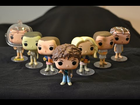 STRANGER THINGS ELEVEN Funko Pop FIGURE COLLECTION comparison & review!