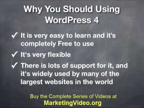 WordPress Video Training Series