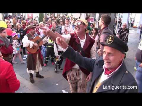 Lunes de disfraces en el Carnaval de Isla Cristina 2020