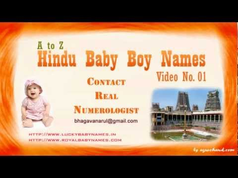 Video A to Z Hindu Baby Boy Names with Meanings - 01 download in MP3, 3GP, MP4, WEBM, AVI, FLV January 2017