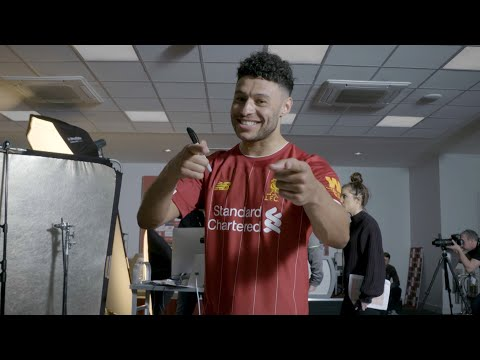 Ox's Vlog: Behind-the-scenes at the 2019/20 Liverpool new kit shoot with Alex Oxlade-Chamberlain