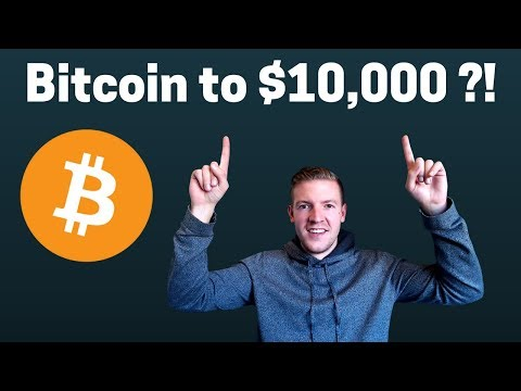 Bitcoin to $10,000 in 6-10 months ? video