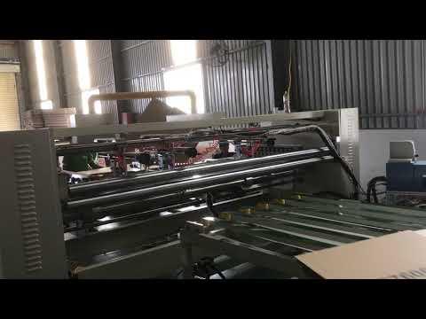 Máy dán thùng carton hai mảnh