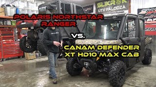 4. Polaris Ranger vs Canam Defender