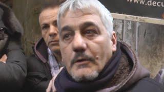 Napoli - Pino Daniele, il dolore di amici e parenti (05.01.15)