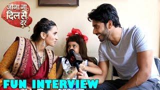 Download Video Fun Interview: Vikram Singh Chauhan & Shivani Surve Talking To Kabir Shah aka Madhav MP3 3GP MP4