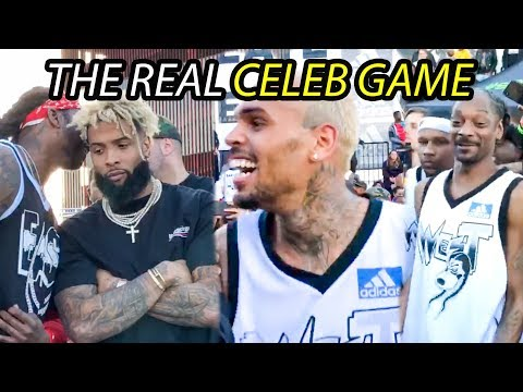 The STARS Come Out For Snoop's Celeb Game! Odell Beckham, Chris Brown, Lil Dicky, 2 Chainz & More!