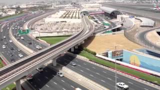 Download Lagu Dubai airport, metro and road view Mp3