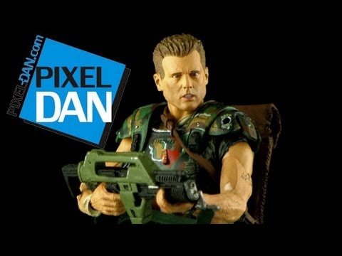 NECA Aliens Corporal Dwayne Hicks Figure Video Review
