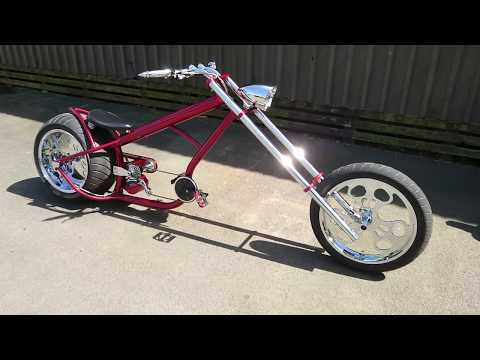 Hannan Custom chopper bike LS300 chopper bike
