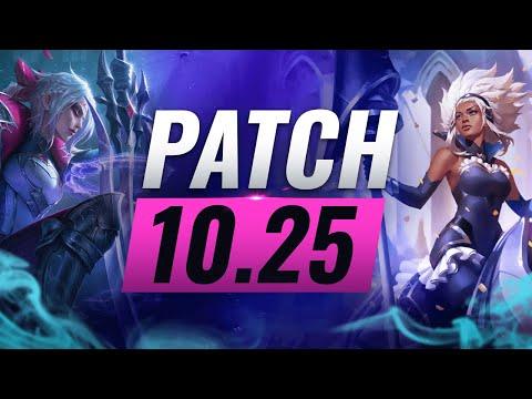 BEST Champions TIER List – League of Legends PRESEASON Patch 10.25