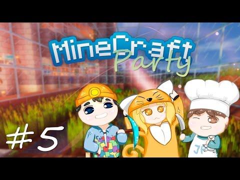 MineCraft Party | Теплица готова! #5