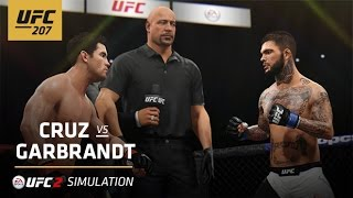 UFC 207 | EA SPORTS UFC 2 Simulation – Cruz vs Garbrandt by UFC