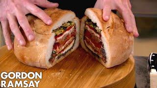Pan Bagnat with Carrot, Cumin & Orange Salad | Gordon Ramsay by Gordon Ramsay