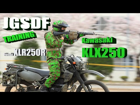 Japanese Motorcycle Special Teams At Training with Kawasaki KLX250 - Thời lượng: 13:08.