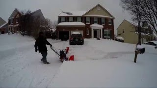 Bowie (MD) United States  city pictures gallery : Blizzard of 2016, Bowie MD - Day1