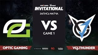 OpTic Gaming против VGJ.T, Первая карта, Grand Final StarLadder Imbatv Invitational S5 LAN-Final