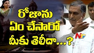 Harish Rao Punch to Opposition Parties @ Telangana Assembly Budget Sessions    NTV