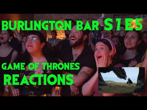 GAME OF THRONES Reactions at Burlington Bar /// 7x5 PART ONE \\\