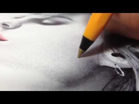 How To Draw In Ballpoint Pen - A SHADING Tutorial By Gareth Edwards