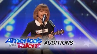 Video Grace VanderWaal: 12-Year-Old Ukulele Player Gets Golden Buzzer - America's Got Talent 2016 MP3, 3GP, MP4, WEBM, AVI, FLV Mei 2018