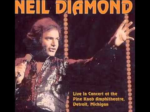 "Neil Diamond ""Shilo, Glory Road, Chelsea Morning"" Live Michigan 1978"