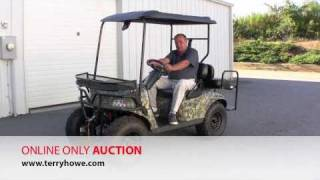 10. 2008 Ruff and Tuff Electric Vehicle - Online Only Auction