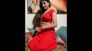 XxX Hot Indian SeX Aunty Hot In Red Color Saree Hot Figure Lookig Sexy .3gp mp4 Tamil Video