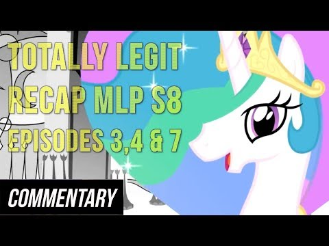 [Blind Reaction] Totally Legit Recap S8, Episodes 3, 4 & 7