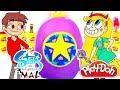 Huevo Sorpresa GIGANTE de STAR vs LAS FUERZAS DEL MAL en Español de Plastilina Play Doh En Español
