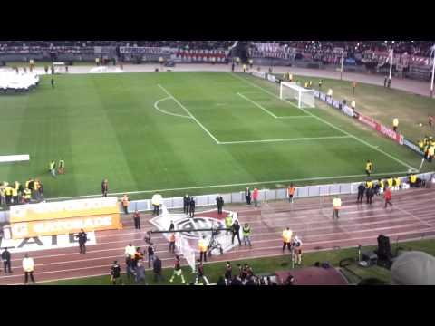 Video - River Plate vs. Guaraní - Copa Libertadores 2015 - Recibimiento - Los Borrachos del Tablón - River Plate - Argentina