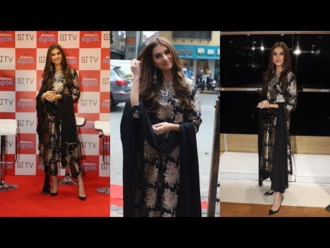 Tara Sutaria At The Launch Of OnePlus Digital TV At Reliance Digital Store