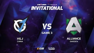 VG.J vs Alliance, Game 3, SL i-League Invitational S2 LAN-Final, Group A