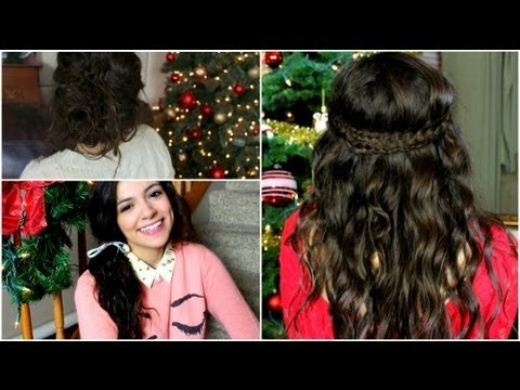 hairstyle - Happy Holidays my lovelies!!! I hope you enjoyed this hair style video and thumbs up if you wanna see more :) Also make sure to send me pictures if you try a...