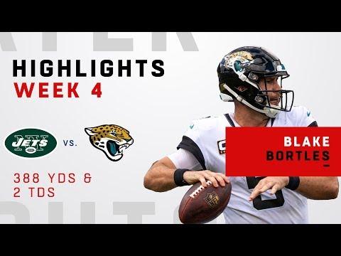 Blake Bortles' Big Day w/ 388 Passing Yards & 2 TDs