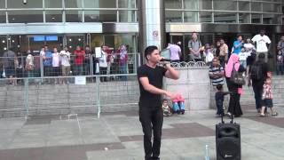 Shawn Lee Beatboxing at KLCC busket 2013