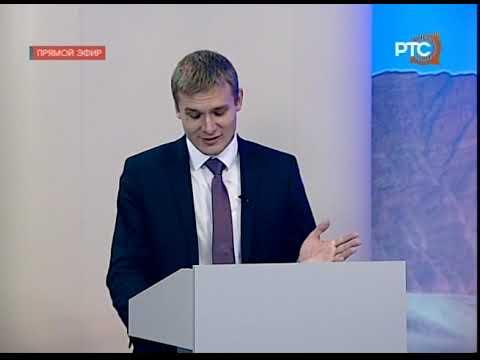 Дебаты 2018.09.21 Зимин - Коновалов. РТС - DomaVideo.Ru
