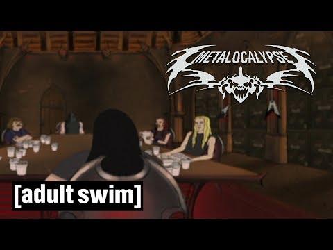 Dethklok Employee Performance Review | Metalocalypse | Adult Swim