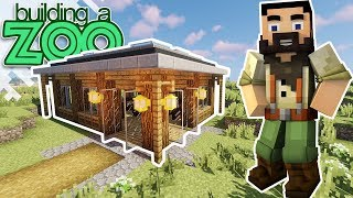 I'm Building A Zoo In Minecraft! - Gift Shop! - EP22