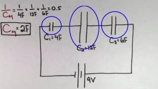 Capacitors in series   Circuits   Physics   Khan Academy