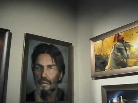 Blizzard press tour - I was invited to Blizzard Entertainment to preview Diablo 3 at their media event. Here's a short video tour of their Museum that is right inside their lobby....
